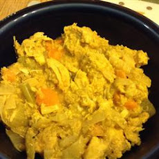 Slow Cooker Chicken Curry with Quinoa