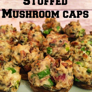Crowd Pleasing Stuffed Mushroom Caps