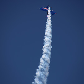 going up by Paulo Jorge Marques - News & Events Entertainment ( flying, blue, portugal, planes, airshow )