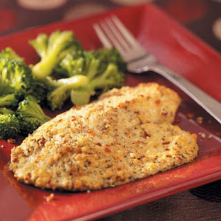 Red Pepper & Parmesan Tilapia