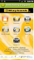 Screenshot of Mobile Banking @ Singapore