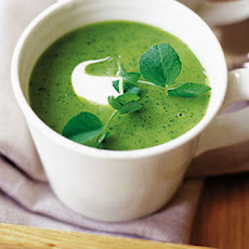 Pea, Lettuce And Tarragon Soup