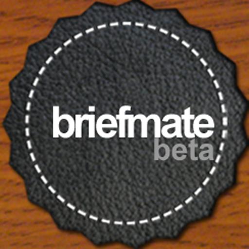 BriefMate LOGO-APP點子