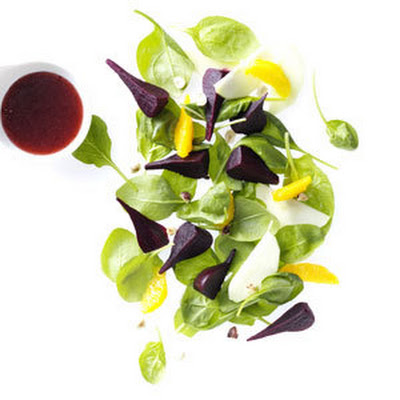 Beet Spinach Salad