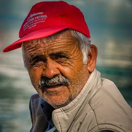 Mustafa by Murat Besbudak - People Portraits of Men
