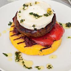 Goat Cheese And Polenta Stack Recipe
