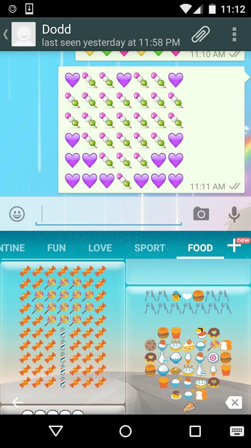 Download Food Art - Emoji Keyboard for PC - choilieng.com