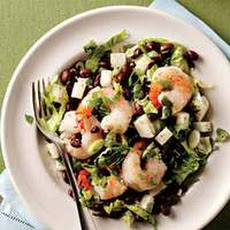 Southwestern Shrimp-and-Bean Salad
