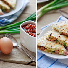 Breakfast Burrito Quesadilla