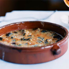 Morel Mushroom and Oloroso Sherry Gratin