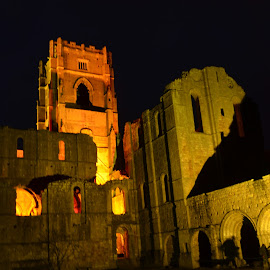 Fountains Abbey by Christopher Baksa - Buildings & Architecture Places of Worship ( fountains abbey )