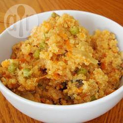 Cheesy Quinoa