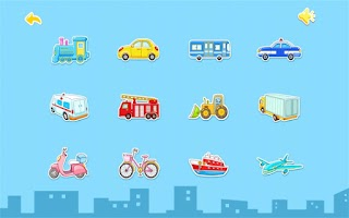 Screenshot of Transport by BabyBus