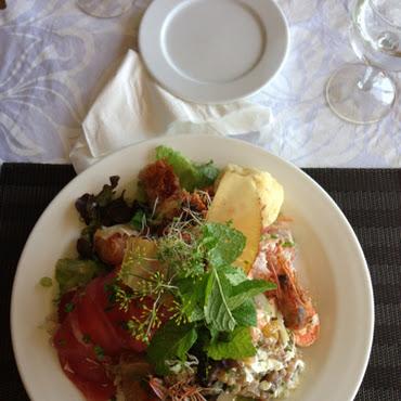 L'assiette Royal Tahitien