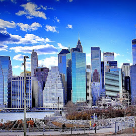 by Jose Figueiredo - City,  Street & Park  Skylines ( skylines, manhattan, town, new york )