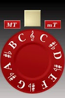 Screenshot of Chromatic Pitch Pipe Pro