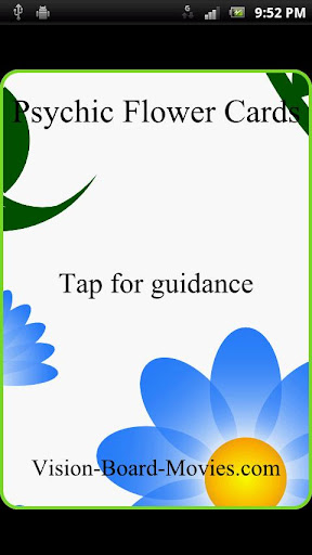 Psychic Flower Cards