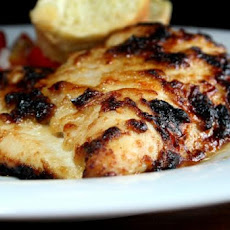 Parmesan Garlic Chicken Breasts