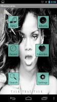 Screenshot of Rihanna Lyrics