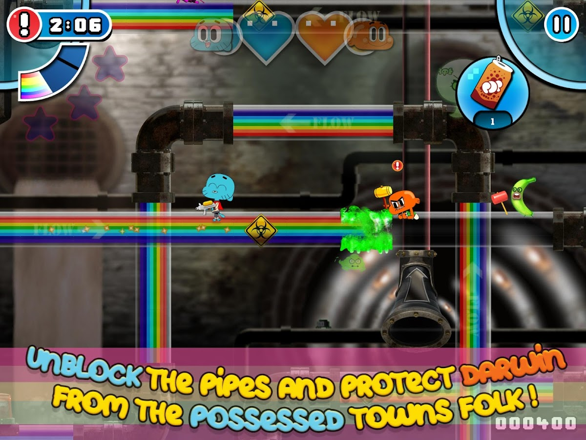 Gumball Rainbow Ruckus Screenshot 3