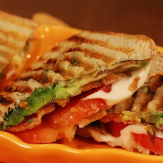 Turkey, Bacon and Avocado Panini