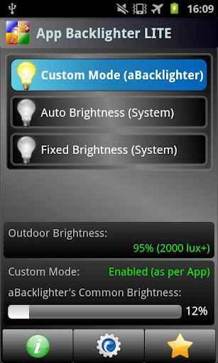 aBacklighter App Backlighter
