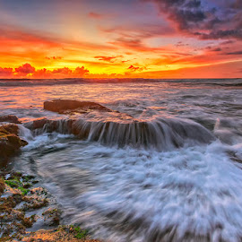 love beach by Tino Purnamantha - Landscapes Waterscapes ( love, indonesian, bali, indonesia, sunset, popular, sunrise, beach,  )