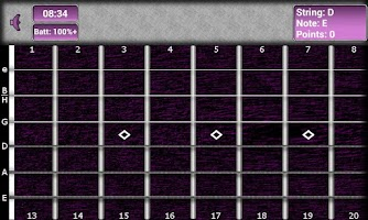 Screenshot of Klotzkoepfchen Guitar Trainer