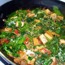 Palak Paneer (Indian Fresh Spinach With Paneer Cheese)