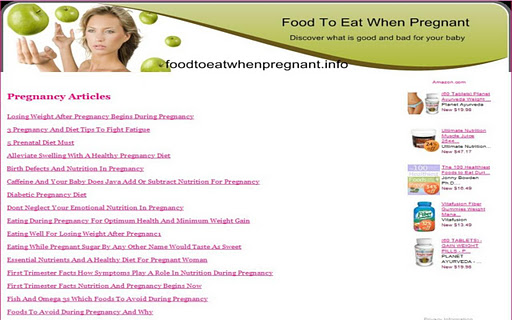 【免費健康App】Pregnancy Foods-APP點子
