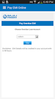 Screenshot of BajajFinserv Experia