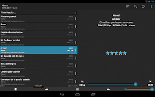 Screenshot of foobar2000 controller