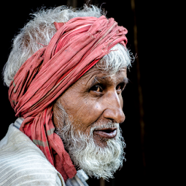Old mam by Kunal Borkar - People Portraits of Men