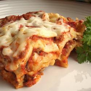 Simply Traditional Lasagna