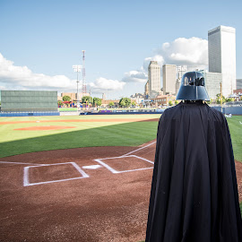 vader baseball by David Lackey - People Musicians & Entertainers