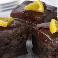 Grand Marnier Brownie Kisses