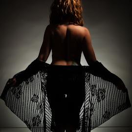 by Kerri Garrison - Nudes & Boudoir Boudoir ( sexy, silouette, woman )