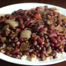 Red & Black Beans And Rice