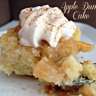 Mom's Apple Cake {Apple Dump Cake}