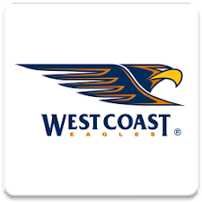 West Coast Eagles SpinningLogo