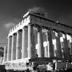 Acropolis - Parthenon by Pantelis Orfanos - Buildings & Architecture Statues & Monuments ( temple, hellas, parthenon, acropolis, greece, athens, monument )