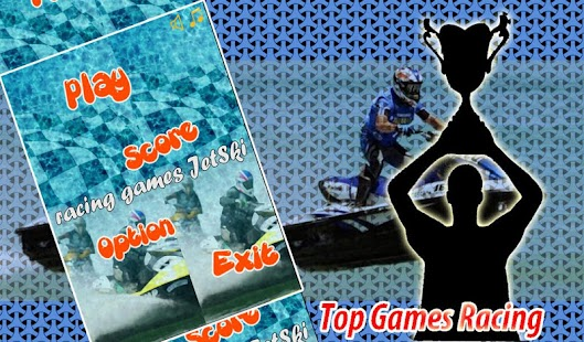toon jetski game - screenshot