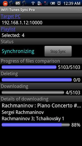WiFi Tunes Sync Pro