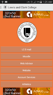 Lewis and Clark College - screenshot