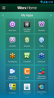 Screenshot of Worx Home for Samsung