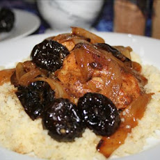 Moroccan Chicken (With Prunes)