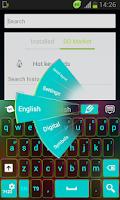 Screenshot of Keyboard Colour