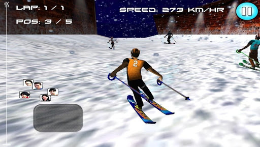 Snow Ski Racing ( 3D Game ) - screenshot