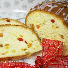 Sugar Plum Bread With Homemade Butter