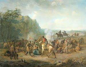 RIJKS: Louis Moritz: painting 1814